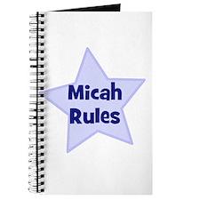 Micah Rules Journal