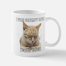 Zen Cat - I Was Grumpy Once It Was Awful Mug