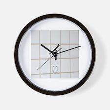 Katakana-i Wall Clock
