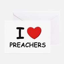 I love preachers Greeting Cards (Pk of 10)