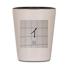 Katakana-i Shot Glass