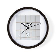 Katakana-a Wall Clock