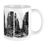 Nuclear war damage mug