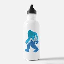 Yeti Mountain Scene Water Bottle