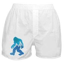 Yeti Mountain Scene Boxer Shorts