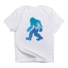 Yeti Mountain Scene Infant T-Shirt