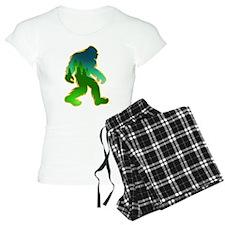 Sasquatch Forest Scene Pajamas