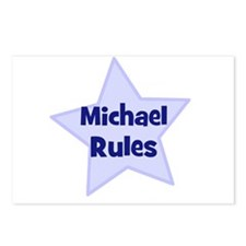 Michael Rules Postcards (Package of 8)