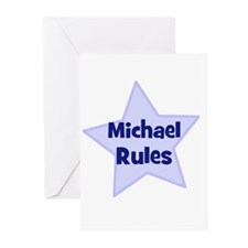 Michael Rules Greeting Cards (Pk of 10)