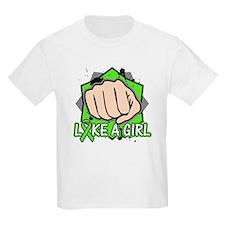 Lymphoma Punch Fight T-Shirt