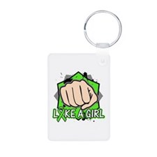 Lymphoma Punch Fight Keychains