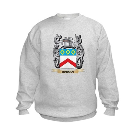 Dorsam Coat of Arms - Family Crest Sweatshirt