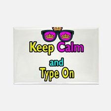 Crown Sunglasses Keep Calm And Type On Rectangle M