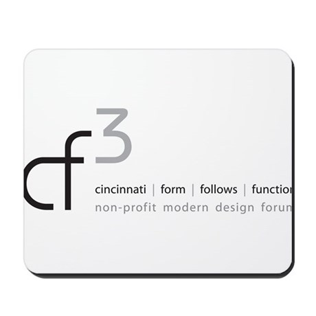 cf3 cincinnati form follows function Mousepad