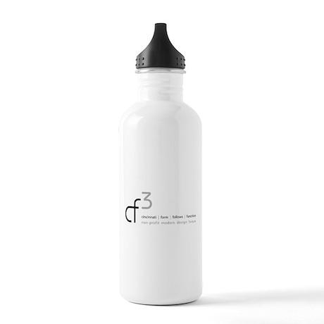 cf3 cincinnati form follows function Water Bottle