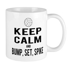 Keep Calm Volleyball Mug