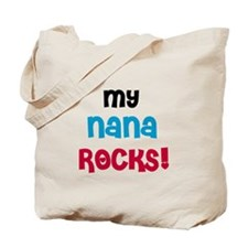 Nana and Papa Rock Tote Bag