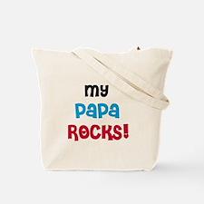 Nana and Papa Rock Tote Bag