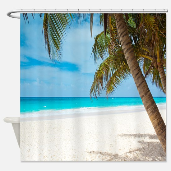 Beach Paradise Shower Curtain
