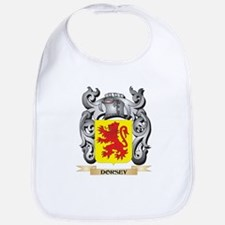 Dorsey Coat of Arms - Family Crest Baby Bib