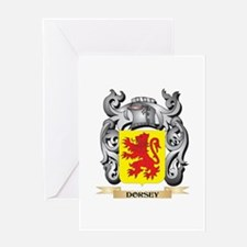 Dorsey Coat of Arms - Family Crest Greeting Cards