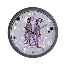 Starlight Gemini Wall Clock