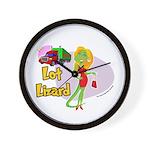 Lot Lizard 2013 Wall Clock