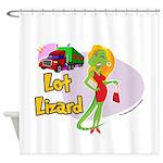 Lot Lizard 2013 Shower Curtain