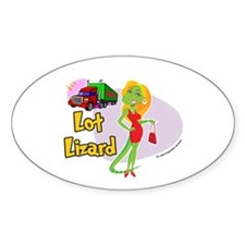 Lot Lizard 2013 Sticker (Oval)
