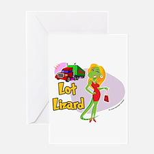Lot Lizard 2013 Greeting Card