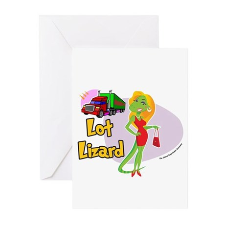 Lot Lizard 2013 Greeting Cards (Pk of 20)