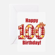 Happy 100th Birthday! Greeting Card