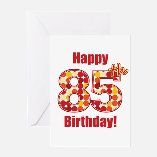 85Th Birthday Greeting Cards Thank You Cards and Custom Cards – Image of Birthday Greeting