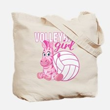 Volleyball Girl Tote Bag