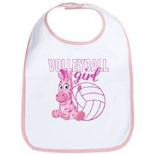 Volleyball Girl Bib