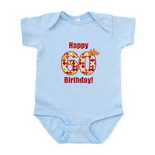 Happy 60th Birthday! Body Suit