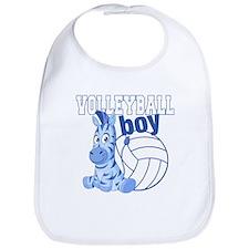Volleyball Boy Bib