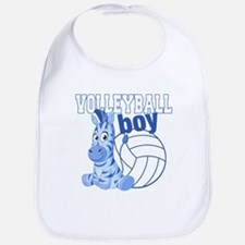 Volleyball Boy Bib