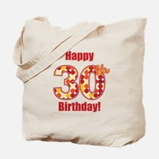 Happy 30th Birthday! Tote Bag