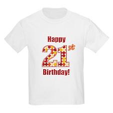 Happy 21st Birthday! T-Shirt