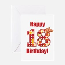 Happy 18th Birthday! Greeting Card