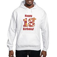 Happy 18th Birthday! Hoodie