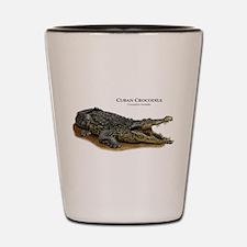 Cuban Crocodile Shot Glass