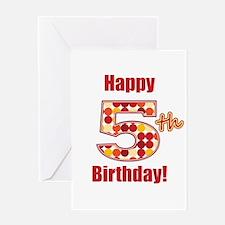 Happy 5th Birthday! Greeting Card