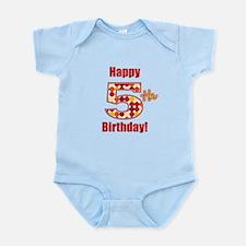 Happy 5th Birthday! Body Suit