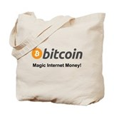 Bitcoin Regular Canvas Tote Bag