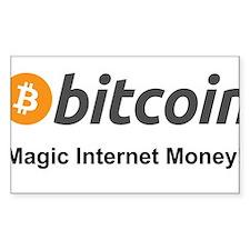Bitcoin: Magic Internet Money! Decal