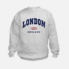 London England Union Jack Sweatshirt