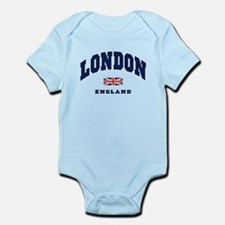 London England Union Jack Body Suit