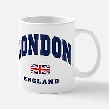 London England Union Jack Mug
